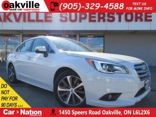 Used 2016 Subaru Legacy 3.6R Limited Package | NAV | B/U CAM | SUNROOF for sale in Oakville, ON