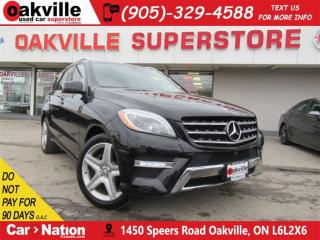 Used 2015 Mercedes-Benz ML-Class ML350 BlueTec | NAV | B/U CAM | AMG RIMS | BT for sale in Oakville, ON
