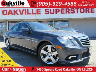 Used 2011 Mercedes-Benz E-Class E350 4MATIC | NAV | B/U CAM | PANO ROOF | BT for sale in Oakville, ON