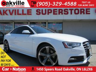Used 2014 Audi A5 2.0T S-LINE | NAVI | SUNROOF | B/U CAM | QUATTRO for sale in Oakville, ON