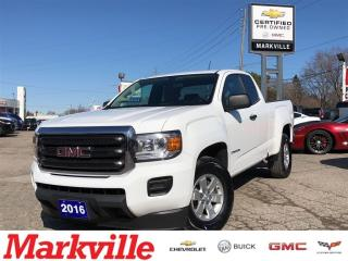 Used 2016 GMC Canyon MANUAL TRANS-GM CERTIFIED PRE-OWNED-1 OWNER TRADE for sale in Markham, ON