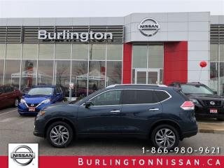 Used 2015 Nissan Rogue SL, NAVIGATION, ACCIDENT FREE ! for sale in Burlington, ON