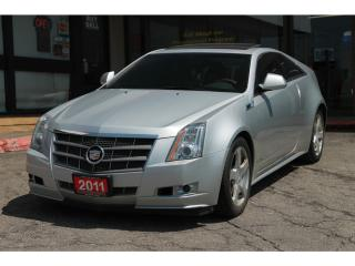 Used 2011 Cadillac CTS Performance Collection NAVI | Sunroof | Leather | for sale in Waterloo, ON