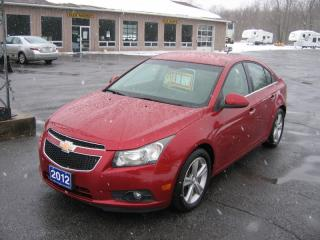 Used 2012 Chevrolet Cruze LTZ Turbo LETHER for sale in Smiths Falls, ON