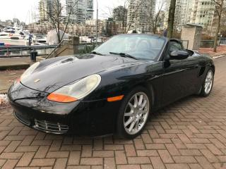 Used 2001 Porsche Boxster S TYP,6SP MANUAL,NO ACCIDENT,LOW KM for sale in Vancouver, BC
