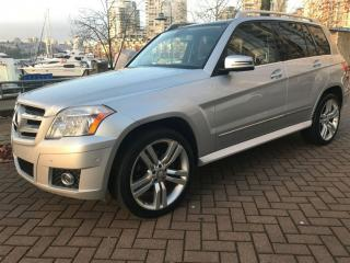 Used 2010 Mercedes-Benz GLK-Class NO ACCIDENT, PANORAMIC SUN ROOF, AWD for sale in Vancouver, BC