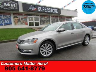 Used 2012 Volkswagen Passat 2.5 Highline  LEATHER ROOF POWER SEATS HEATED SEATS PREMIUM AUDIO for sale in St Catharines, ON