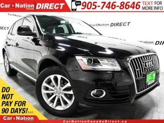 Used 2014 Audi Q5 2.0 Progressiv| AWD| PANO ROOF| for sale in Burlington, ON