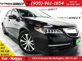 Used 2016 Acura TLX Tech| SUNROOF| NAVI| WE WANT YOUR TRADE| for sale in Burlington, ON