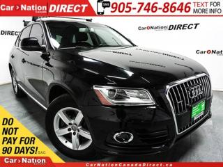 Used 2014 Audi Q5 quattro| NAVI| PANO ROOF| LEATHER| for sale in Burlington, ON