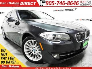 Used 2012 BMW 535xi | LOW KM'S| LEATHER| NAVI| SUNROOF| for sale in Burlington, ON