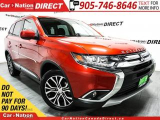 Used 2016 Mitsubishi Outlander Touring Edition| 4X4| SUNROOF| BACK UP CAMERA| for sale in Burlington, ON