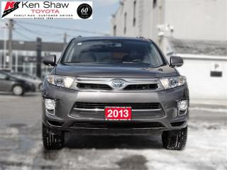 Used 2013 Toyota Highlander Hybrid LIMITED HYBRID for sale in Toronto, ON