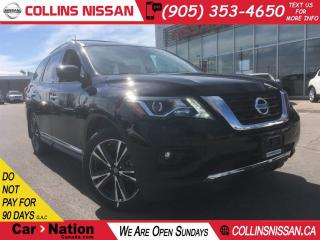 Used 2018 Nissan Pathfinder PLATINUM | EXECUTIVE DEMO | $234 BI-WEEKLY for sale in St Catharines, ON
