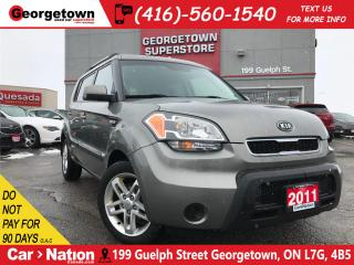 Used 2011 Kia Soul 2.0L 2U | AUTO | HTD SEATS | ALLOYS | BLUETOOTH for sale in Georgetown, ON