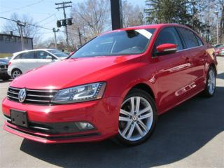 Used 2015 Volkswagen Jetta 2.0 TDI HIGHLINE~NAVIGATION~91KMS~LEATHER !!! for sale in Burlington, ON
