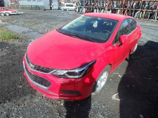 Used 2016 Chevrolet Cruze LT for sale in St-Philibert, QC