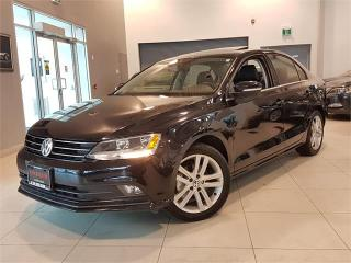 Used 2015 Volkswagen Jetta Sedan 1.8 TSI HIGHLINE-LEATHER-SUNROOF-ONLY 27KM for sale in York, ON