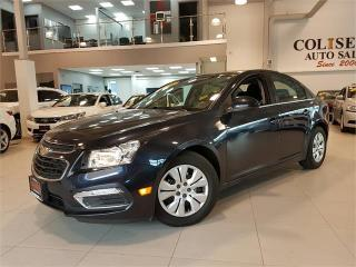 Used 2016 Chevrolet Cruze Limited LT-AUTOMATIC-CAMERA-BLUETOOTH-ONLY 28KM for sale in York, ON
