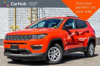 New 2018 Jeep Compass New Car Sport|ColdWthr,SportApp.Pkg|HeatFrntSeats|R-Start|16
