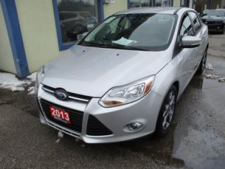 Used 2013 Ford Focus FUEL EFFICIENT SE MODEL 5 PASSENGER 2.0L - DOHC.. HEATED SEATS.. SYNC TECHNOLOGY.. KEYLESS ENTRY.. for sale in Bradford, ON
