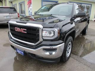Used 2017 GMC Sierra 1500 READY TO WORK SLE MODEL 6 PASSENGER 5.3L - V8.. 4X4.. CREW.. SHORTY.. FACTORY WARRANTY.. TOUCH SCREEN.. BACK-UP CAMERA.. BLUETOOTH.. for sale in Keswick, ON