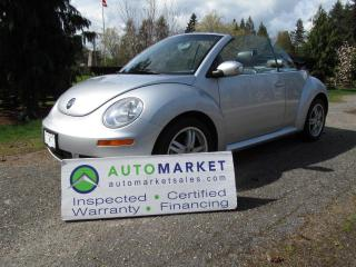 Used 2006 Volkswagen Beetle 2.5L CONVERTIBLE for sale in Surrey, BC