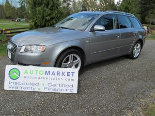 Used 2007 Audi A4 AVANTE, AWD, INSP, WARR for sale in Surrey, BC