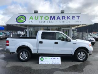 Used 2004 Ford F-150 LARIAT SuperCrew 4WD ONE OWNER! for sale in Langley, BC