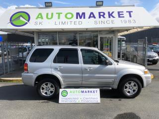 Used 2007 Ford Escape Limited 4WD LEATHER! FINANCE IT! for sale in Langley, BC