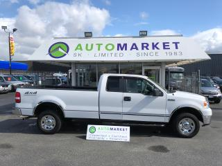 Used 2008 Ford F-150 STX SuperCab LONG BOX 4WD FINANCE IT! for sale in Langley, BC