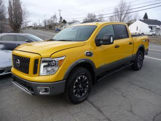 Used 2017 Nissan Titan Pro-4X for sale in Ste-Marie, QC