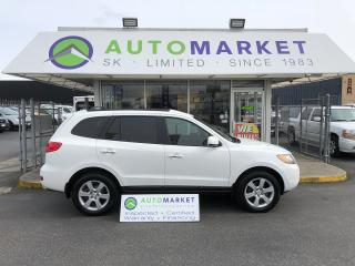 Used 2007 Hyundai Santa Fe Limited AWD LEATHER SUNROOF FINANCE IT! for sale in Langley, BC