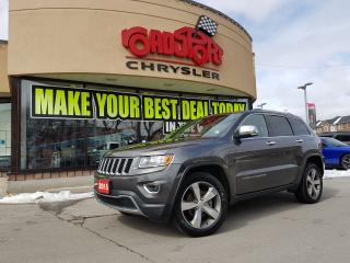 Used 2015 Jeep Grand Cherokee Limited NAVI P-ROOF REAR CAM 20'S 2 YR MAINTENANCE for sale in Scarborough, ON