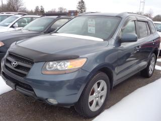 Used 2007 Hyundai Santa Fe GL Premium w/Lth for sale in Oshawa, ON