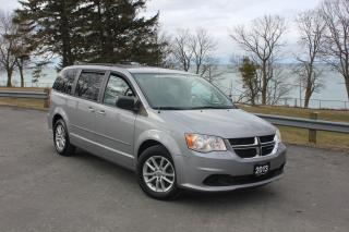 Used 2013 Dodge Grand Caravan SXT- NAVIGATION|DVD|BACKUP CAM|STOW & GO|BLUETOOTH for sale in Oshawa, ON