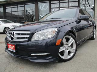 Used 2011 Mercedes-Benz C 300 C300 4MATIC-LETHER-SUNROOF-BLUETOOTH-HETAED for sale in Scarborough, ON