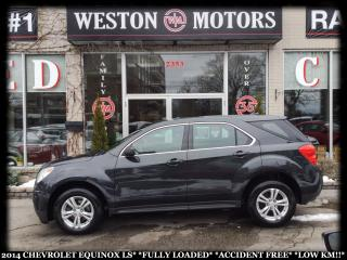 Used 2014 Chevrolet Equinox LS*FULLY LOADED*ACCIDENT FREE!!*LOW KM!!* for sale in York, ON