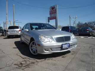 Used 2007 Mercedes-Benz C-Class AUTO C-CLASS AWD  SUNROOF  PL,PW,PM ,PS for sale in Oakville, ON