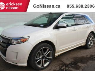 Used 2013 Ford Edge SPORT: NAVIGATION, SUNROOF, LEATHER! for sale in Edmonton, AB
