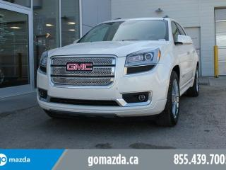 Used 2014 GMC Acadia DENALI !! DVD NAVI 2 SETS OF TIRES GREAT CONDITION for sale in Edmonton, AB