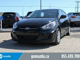 Used 2016 Hyundai Accent GL HATCH BLUETOOTH HEATED SEATS for sale in Edmonton, AB