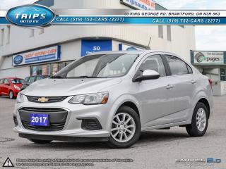 Used 2017 Chevrolet Sonic LT for sale in Brantford, ON