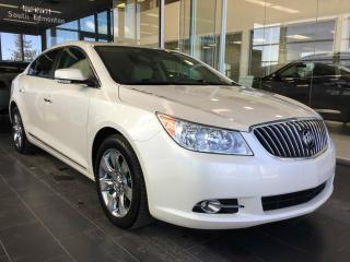 Used 2013 Buick LaCrosse LUXURY, HEATED LEATHER, ACCIDENT FREE for sale in Edmonton, AB