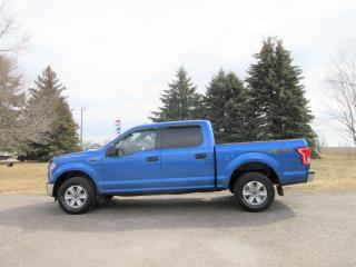 Used 2015 Ford F-150 XLT- SUPER CREW V8 for sale in Thornton, ON