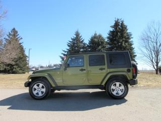 Used 2008 Jeep Wrangler Unlimited- Sahara 4 Door for sale in Thornton, ON