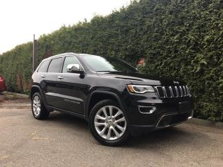 Used 2017 Jeep Grand Cherokee LIMI for sale in Surrey, BC
