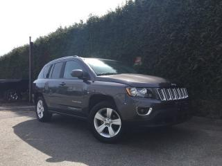 Used 2015 Jeep Compass HIGH ALTITUDE 4X4 + BACK-UP CAMERA + HEATED FT SEATS + SUNROOF + ALLOYS for sale in Surrey, BC
