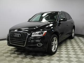 Used 2016 Audi Q5 2.0T Progressiv S-Line - Local One Owner Trade In | No Accidents | Aftermarket Remote Starter Included | Roof Rack Included | Media Screen | Parking Sensors | Panoramic Sunroof | Power Liftgate | Push Button Start | Easy Entry | Bluetooth | Memory Seat |  for sale in Edmonton, AB