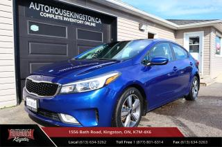 Used 2018 Kia Forte LX APPLE CARPLAY / ANDROID AUTO - BACK UP CAM for sale in Kingston, ON